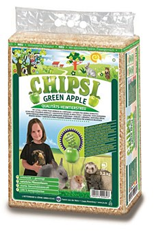 Chipsi Green Apple Small Pet Litter 3.2kg