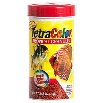 Tetra Color Tropical Granules 75g Fish Food