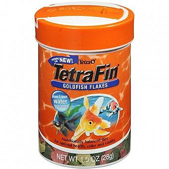 Tetra Fin Goldfish Flakes 28g Fish Food