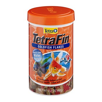 Tetra Fin Goldfish Flakes 62g Fish Food