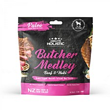 Absolute Holistic Butcher Medley Beef & Hoki Dog Treats 100g