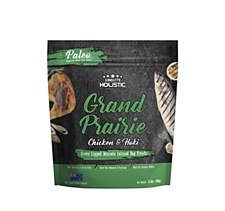Absolute Holistic Grand Prairie Chicken & Hoki Dog Treats 100g