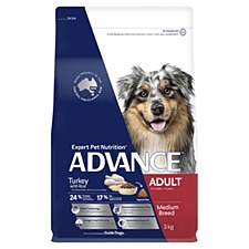 Advance Adult All Breed Turkey and Rice 3kg Dry Dog Food