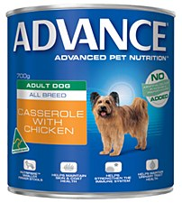 Advance Adult All Breed Chicken Casserole 700g Wet Dog Food