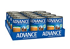 Advance Adult All Breed Chicken Casserole 700g x 12 Wet Dog Food