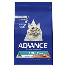 Advance Adult Cat Chicken & Salmon 3kg Dry Cat Food