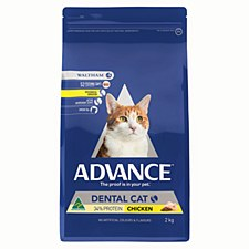 Advance Adult Cat Dental Chicken 2kg Dry Cat Food