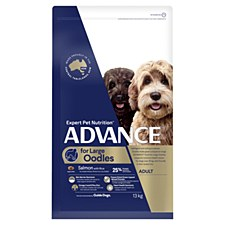 Advance for Large Oodles Salmon with Rice 13kg Dry Dog Food