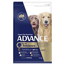 Advance for all Retrievers Chicken & Salmon with Rice 13kg Dry Dog Food