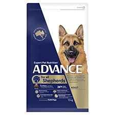 Advance for all Shepherds Turkey with Rice 13kg Dry Dog Food