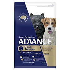 Advance for Small Terriers Ocean Fish with Rice 13kg Dry Dog Food