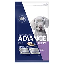 Advance Puppy Large Breed Chicken 15kg Dry Dog Food