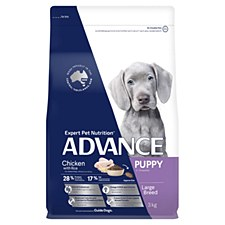 Advance Puppy Large Breed Chicken 3kg Dry Dog Food