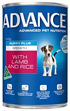 Advance Puppy Lamb and Rice 410g Wet Dog Food
