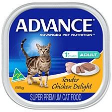 Advance Adult Cat Tender Chicken Delight 85g Wet Cat Food