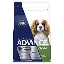 Advance Adult Small Breed Weight Control Chicken 2.5kg Dry Dog Food