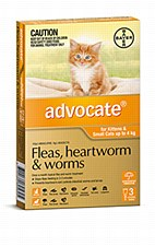 Advocate for Kittens and Small Cats up to 4kg (3 Pack)