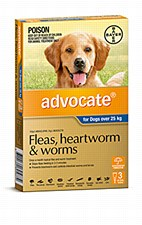 Advocate for Dogs 25kg and larger (3 Pack)