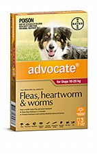 Advocate for Dogs 10 - 25kg (3 Pack)