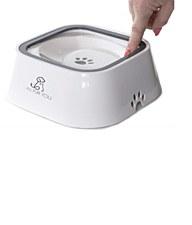 All Fur You Anti Splash Water Bowl White