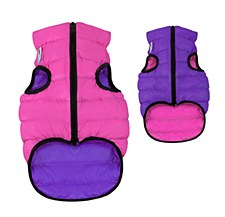 Airy Vest Dog Coat Size 30S Pink & Purple