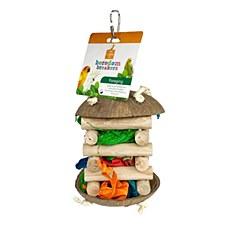 Allpet Foraging Hut Bird Toy