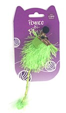 Allpet Pounce n Play Green Mouse Cat Toy