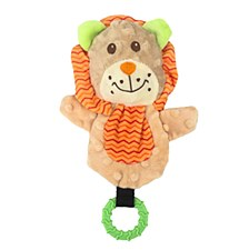 Allpet Snuggle Friends Lion Puppy Teether Dog Toy