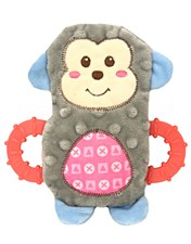 Allpet Snuggle Friends Monkey Puppy Teether Dog Toy