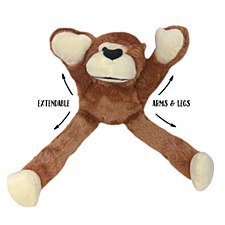Allpet Snuggle Friends Gibbon 38cm Dog Toy