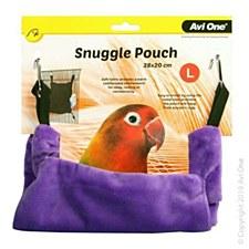 Avi One Bird Snuggle Pouch Large Grape