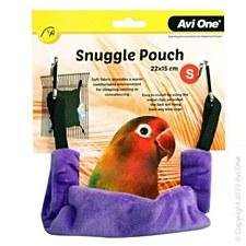 Avi One Bird Snuggle Pouch Small Grape