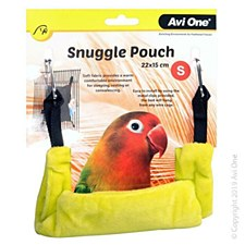 Avi One Bird Snuggle Pouch Small Lime