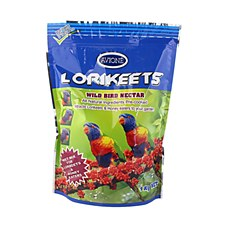 Avione Lorikeets Wild Bird Nectar 1kg Bird Food