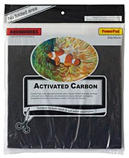 AquaWorks Filter Pad Polyfibre Carbon 30cm x 30cm