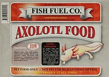 Fish Fuel Co. Axolotl Food 110g Frozen Fish Food