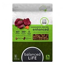 Balanced Life Kangaroo Recipe with Air Dried Kangaroo Pieces 2.5kg Dry Dog Food