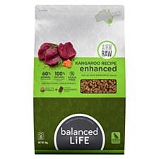 Balanced Life Kangaroo Recipe with Air Dried Kangaroo Pieces 9kg Dry Dog Food
