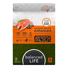 Balanced Life Salmon Recipe with Air Dried Salmon Pieces 2.5kg Dry Dog Food