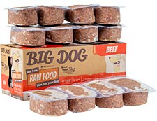 Big Dog Raw Food Beef Recipe for Dogs 3kg Wet Dog Food