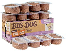 Big Dog Raw Food Combo Recipe for Dogs 3kg Wet Dog Food