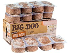 Big Dog Raw Food Sensitive Skin Recipe for Dogs 3kg Wet Dog Food
