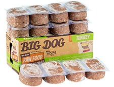 Big Dog Raw Food Turkey Recipe for Dogs 3kg Wet Dog Food