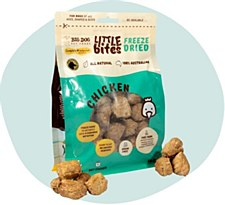 Big Dog Little Bites Freeze Dried Chicken Dog Treats 160g