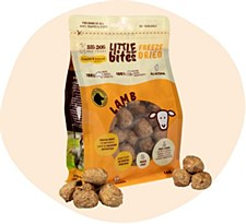 Big Dog Little Bites Freeze Dried Lamb Dog Treats 160g