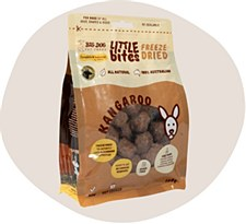Big Dog Little Bites Freeze Dried Kangaroo Dog Treats 160g