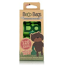 Beco Unscented Degradable Poop Bags (120 Pack)