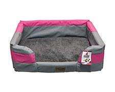 Allpet Extra Large Pink Dog Bed