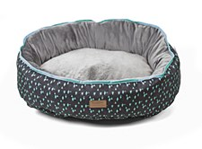 Kazoo Funky Teal Large Dog Bed