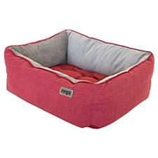 Rogz Cosmo Pod Red Medium Dog Bed